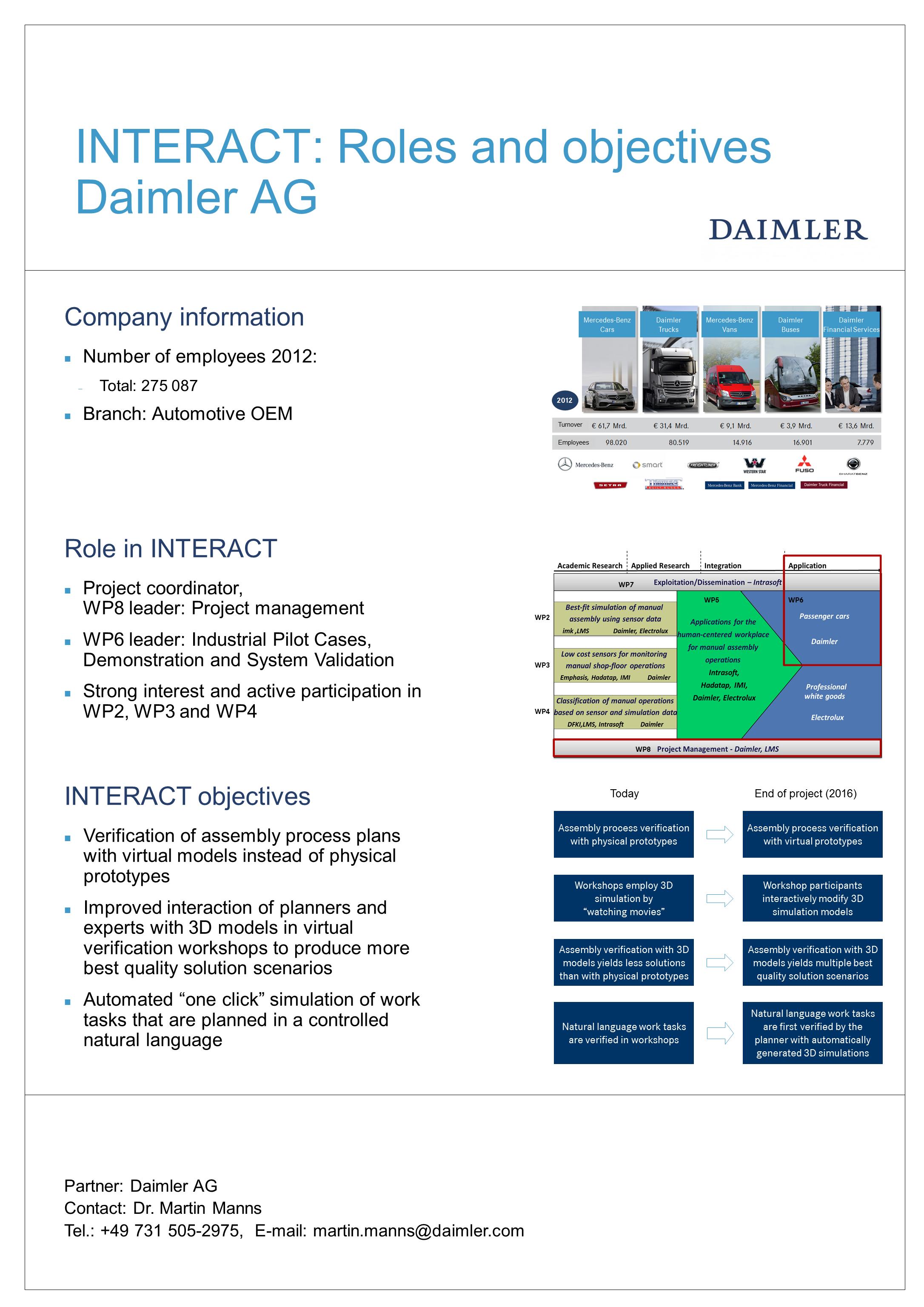 INTERACT Poster Daimler